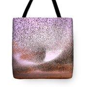 Magic In The Air - Starling Murmurations Tote Bag