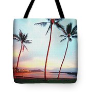 Magic Island Canvas Tote Bag