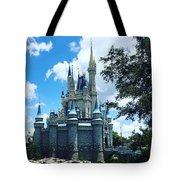 Magic Kingdom Cinderella's Castle #3 Tote Bag