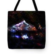 Magic Mountain Lake Tote Bag