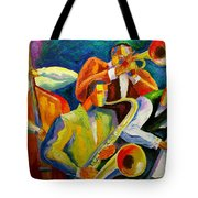 Magic Music Tote Bag by Leon Zernitsky