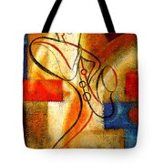 Magic Saxophone Tote Bag