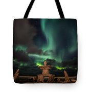 Magical Aurora Tote Bag