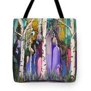 Magical Birch Tote Bag