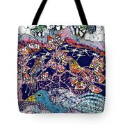 Magical Birds Tote Bag by Carol  Law Conklin