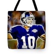Magical Eli Manning Tote Bag