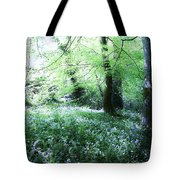 Magical Forest At Blarney Castle Ireland Tote Bag