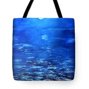 Magical Full Moon Tote Bag