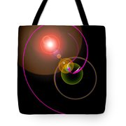 Magical Light And Energy 4 Tote Bag
