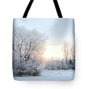 Magical March Morning Tote Bag