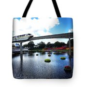 Magical Monorail Ride Tote Bag