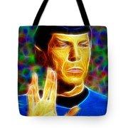 Magical Mr. Spock Tote Bag