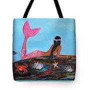 Magical Mystic Mermaid Tote Bag