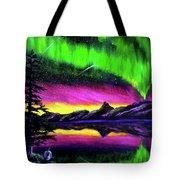 Magical Night Meditation Tote Bag