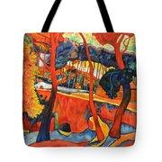 Magical Redwoods And Adobe Walls Tote Bag