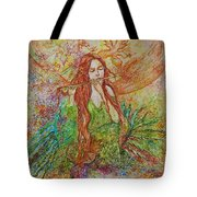 Magical Song Of Autumn Tote Bag