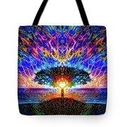 Magical Tree And Sun 2 Tote Bag