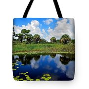 Magical Water Lily Pond 2 Tote Bag
