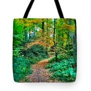 Magical Woodland Walk Tote Bag