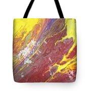 Magma Flow Tote Bag
