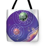 Magnesium And Potassium Ions Tote Bag