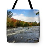 Magnetawan River In Fall Tote Bag