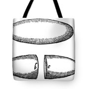 Magnets From De Magnete By W. Gilbert Tote Bag