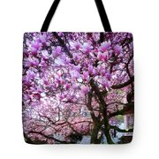 Magnificant Magnolias Tote Bag