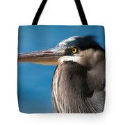 Magnificent Blue Heron Tote Bag