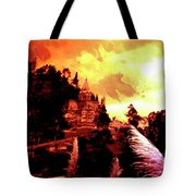 Magnificent Church Of Biblian IIi Tote Bag