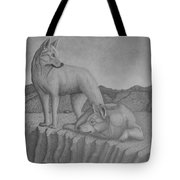 Magnificent Dingo Tote Bag