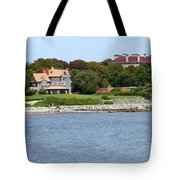 Magnificent Homes Along Cliff Walk Tote Bag