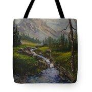 Magnificent Rockies Tote Bag