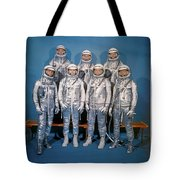Magnificent - The Mercury Seven Tote Bag by Richard Reeve