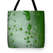 Magnifying Drops Tote Bag