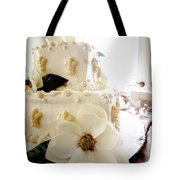 Magnolia Cake Three Tote Bag
