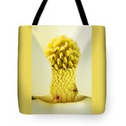 Magnolia Flower With Company Tote Bag