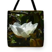 Magnolia Flower Chalice Tote Bag