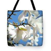 Magnolia Flowers Floral Art Spring Flowering Tree Baslee Troutman Tote Bag
