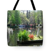 Magnolia Gardens In Charleston Tote Bag