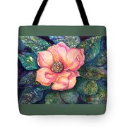 Magnolia In The Evening Tote Bag