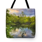 Magnolia Overlook Tote Bag