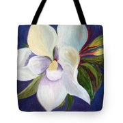 Magnolia Painting Tote Bag
