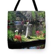 Magnolia Place Pond Tote Bag