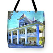 Magnolia Plantation House Tote Bag