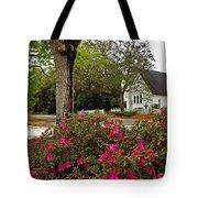 Magnolia Springs Alabama Church Tote Bag
