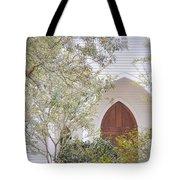 Magnolia Springs Church Tote Bag