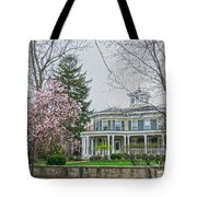 Magnolia Time Tote Bag