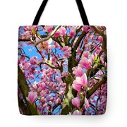 Magnolia Tree Beauty #3 Tote Bag