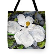Magnolia Tree Flower Tote Bag